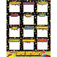 Super Power Birthday Chart by Carson-Dellosa Publishing Company, Inc., 9781483828893