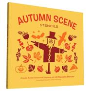 Autumn Scene Stencils by Chronicle Books; Nichols, Lydia, 9781452128900