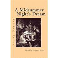 A Midsummer Night's Dream: Critical Essays by Kehler,Dorothea, 9780815338901