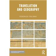 Translation and Geography by Italiano; Federico, 9781138828902