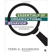 Essentials of Organizational Behavior by Scandura, Terri A., 9781506328904