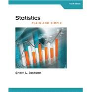 Statistics Plain and Simple by Jackson, Sherri L., 9781305638907