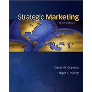 Strategic Marketing by Cravens, David; Piercy, Nigel, 9780078028908