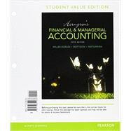 Horngren's Financial & Managerial Accounting, Student Value Edition Plus MyAccountingLab with Pearson eText -- Access Card Package by Miller-Nobles, Tracie L.; Mattison, Brenda L.; Matsumura, Ella Mae, 9780134078908