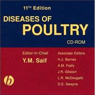 Diseases of Poultry, 11th Edition by Editor-in-Chief:  Y. M. Saif; Associate Editor:  H. J. Barnes; Associate Editor:  J. R. Glisson; Associate Editor:  A. M. Fadly; Associate Editor:  L. R. McDougald; Associate Editor:  David E. Swayne, 9780813828909