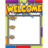 Super Power Welcome Chart by Carson-Dellosa Publishing Company, Inc., 9781483828909