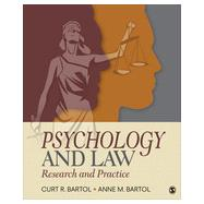 Psychology and Law by Bartol, Curtis R.; Bartol, Anne M., 9781452258911