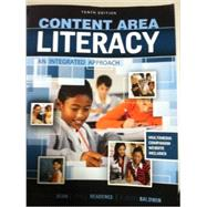 Content Area Literacy: An Integrated Approach 9780757588914U