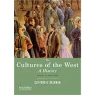 The Cultures of the West, Volume Two: