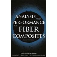 Analysis and Performance of Fiber Composites by Agarwal, Bhagwan D.; Broutman, Lawrence J.; Chandrashekhara, K., 9780471268918