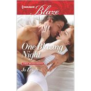 One Blazing Night by Leigh, Jo, 9780373798919