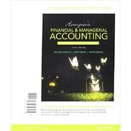 Horngren's Financial & Managerial Accounting, The Managerial Chapters, Student Value Edition Plus MyAccountingLab with Pearson eText -- Access Card Package by Miller-Nobles, Tracie L.; Mattison, Brenda L.; Matsumura, Ella Mae, 9780134078922