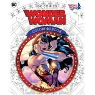Dc Comics Wonder Woman Coloring Book by Insight Editions, 9781608878925