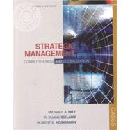 Strategic Management Competitiveness and Globalization, Cases with InfoTrac College Edition by Hitt, Michael A.; Ireland, R. Duane; Hoskisson, Robert E., 9780324048926