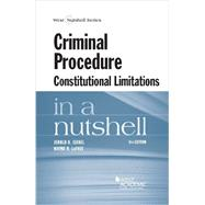 Criminal Procedure by Israel, Jerold H.; Lafave, Wayne R., 9780314288929