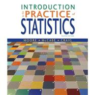 Introduction to the Practice of Statistics w/CrunchIt/EESEE Access Card by Moore, David S.; McCabe, George P.; Craig, Bruce A., 9781464158933