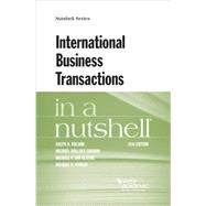 International Business Transactions in a Nutshell by Folsom, Ralph; Gordon, Michael; Van Alstine, Michael; Ramsey, Michael, 9781634598934