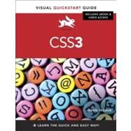 CSS3 Visual QuickStart Guide by Teague, Jason Cranford, 9780321888938
