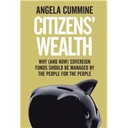 Citizens' Wealth by Cummine, Angela, 9780300218947