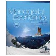 Managerial Economics, Eigth Edition by Samuelson, 9781118808948