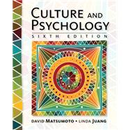 Culture and Psychology by Matsumoto, David; Juang, Linda, 9781305648951
