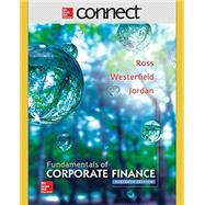 Fundamentals of Corporate Finance with Connect Access Card by Ross, Stephen; Westerfield, Randolph; Jordan, Bradford, 9781259418952