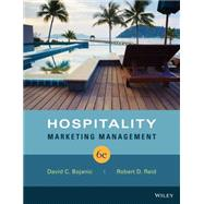 Hospitality Marketing Management by Bojanic, David C.; Reid, Robert D., 9781118988954