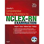 Mosby's Comprehensive Review of Nursing for NCLEX-RN Examination (Book with CD-ROM) by Nugent, Patricia M., R. N., 9780323078955
