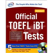 Official TOEFL iBT Tests Volume 2 by Educational Testing Service, 9780071848961