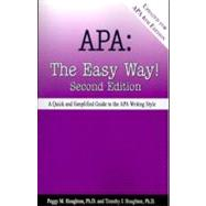 APA: The Easy Way! by Peggy M. Houghton, 9780923568962