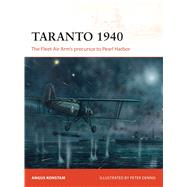 Taranto 1940 The Fleet Air Arm's precursor to Pearl Harbor by Konstam, Angus; Dennis, Peter, 9781472808967