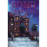Murder on St. Nicholas Avenue by Thompson, Victoria, 9780425278970