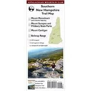 Southern New Hampshire Trail Map: Mount Monadnock (With Historic Features) / Sunapee and Pillsbury State Parks / Mount Cardigan / Belknap Range by Appalachian Mountain Club Books, 9781934028971