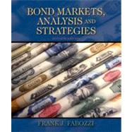 Bond Markets, Analysis, and Strategies by Fabozzi, Frank J., 9780136078975