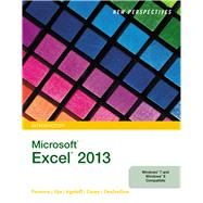 New Perspectives on Microsoft Excel 2013 Comprehensive SAM 2013 Assessment -PRINTED ACCESS CARD 2013 by Cengage, 9781285758978