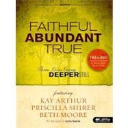 Faithful Abundant True Retreat Guide Member Book