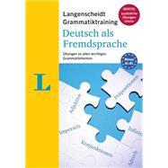 Langenscheidt Grammatiktraining Deutsch Als Fremdsprache by Werner, Grazyna, 9783468348983