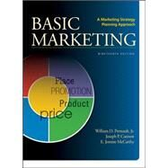 BASIC MARKETING A Marketing Strategy Planning Approach by Perreault, Jr., William; Cannon, Joseph; McCarthy, E. Jerome, 9780078028984