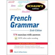 Schaum's Outline of French Grammar by Crocker, Mary, 9780071828987