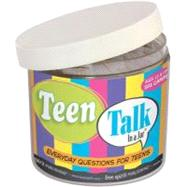 Teen Talk in a Jar by Free Spirit Publishing, 9781575428987