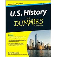 U. S. History for Dummies by Wiegand, Steve, 9781118888988