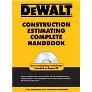 DEWALT Construction Estimating Complete Handbook by Ding, Adam; American Contractors Educational Services, 9781435498990