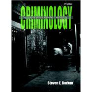 Criminology A Sociological Understanding by Barkan, Steve E., 9780133458992