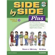 Side by Side Plus 3 Book & eText with CD by Molinsky, Steven J.; Bliss, Bill, 9780133828993