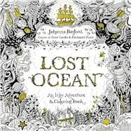 Lost Ocean Adult Coloring Book by Basford, Johanna, 9780143108993