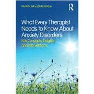 What Every Therapist Needs to Know About Anxiety Disorders: Key Concepts, Insights, and Interventions by Seif; Martin N., 9780415828994