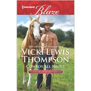 Cowboy All Night by Thompson, Vicki Lewis, 9780373798995