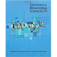 Bundle: Statistics for the Behavioral Sciences w/Mindtap Access Card by Gravetter/Wallnau, 9781337128995