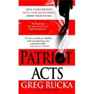 Patriot Acts by RUCKA, GREG, 9780553588996