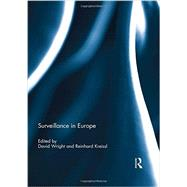 Surveillance in Europe by Wright; David, 9780415728997